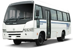32 seater mini bus on rent