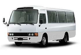 Mini bus on rent