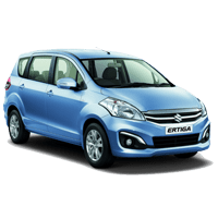 ertiga on rent