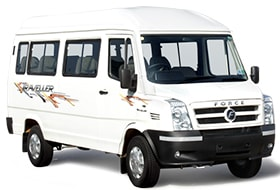 Ac tempo traveller on rent