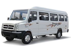 13seater tempo traveller on rent