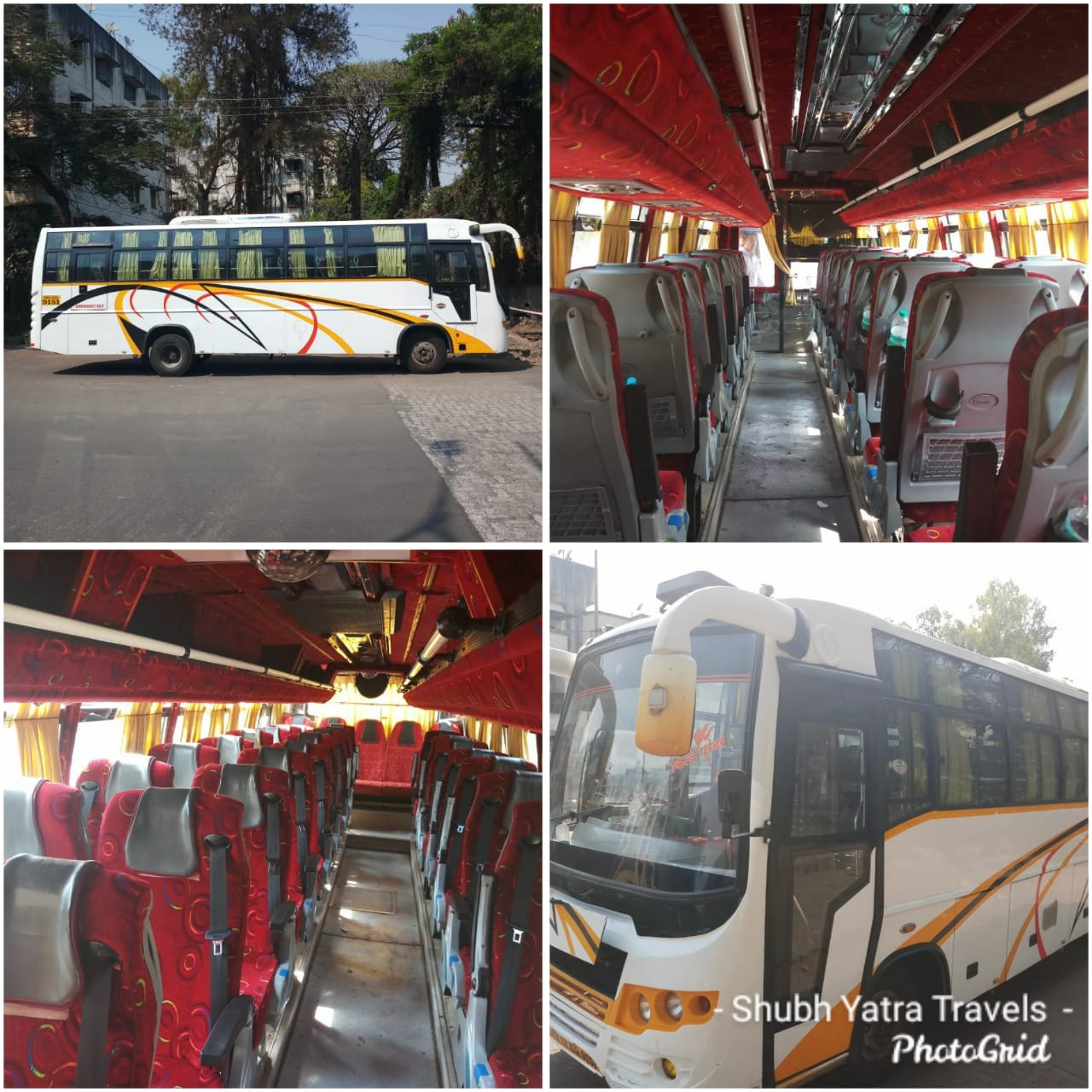 32 Seater Ac Luxury Bus On Rent In Pune