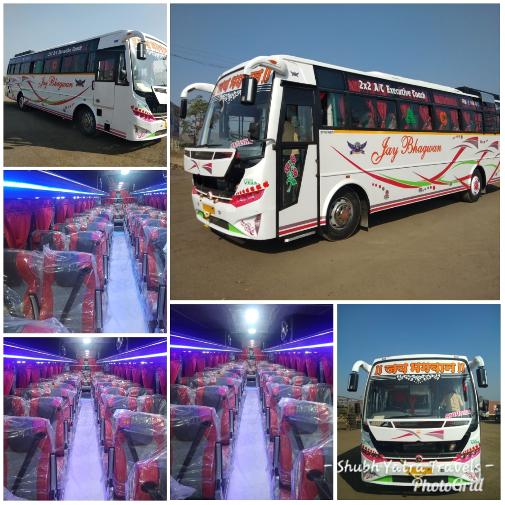 50 Seater Bus Ac Bus On Rent
